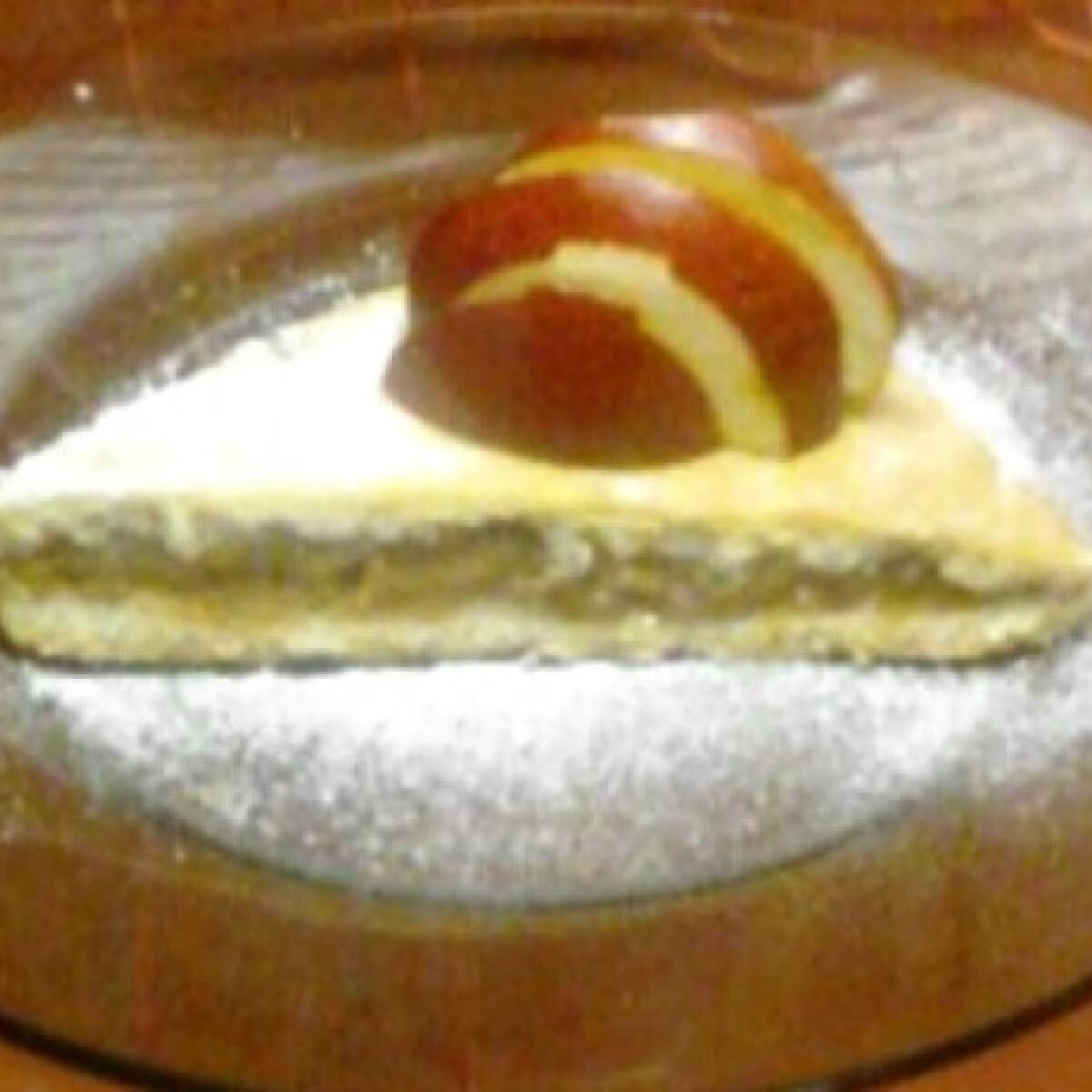 Ezen a képen: Rebarbarás pite Saci konyhájából