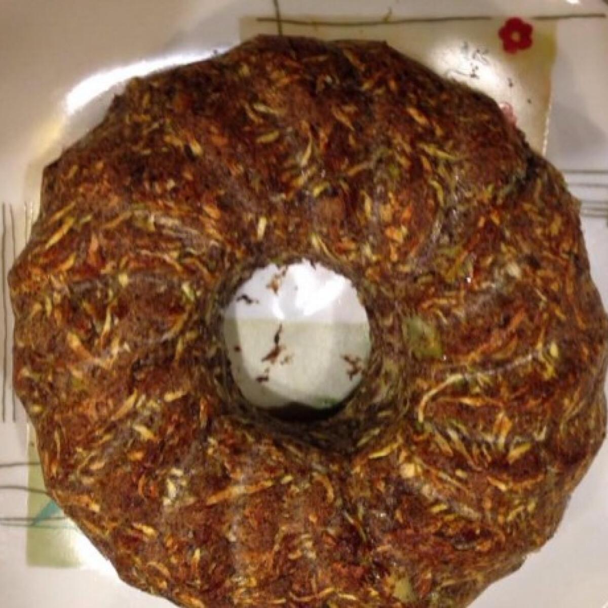 Egyszerű cukkinis-mákos süti cukor és tojás nélkül