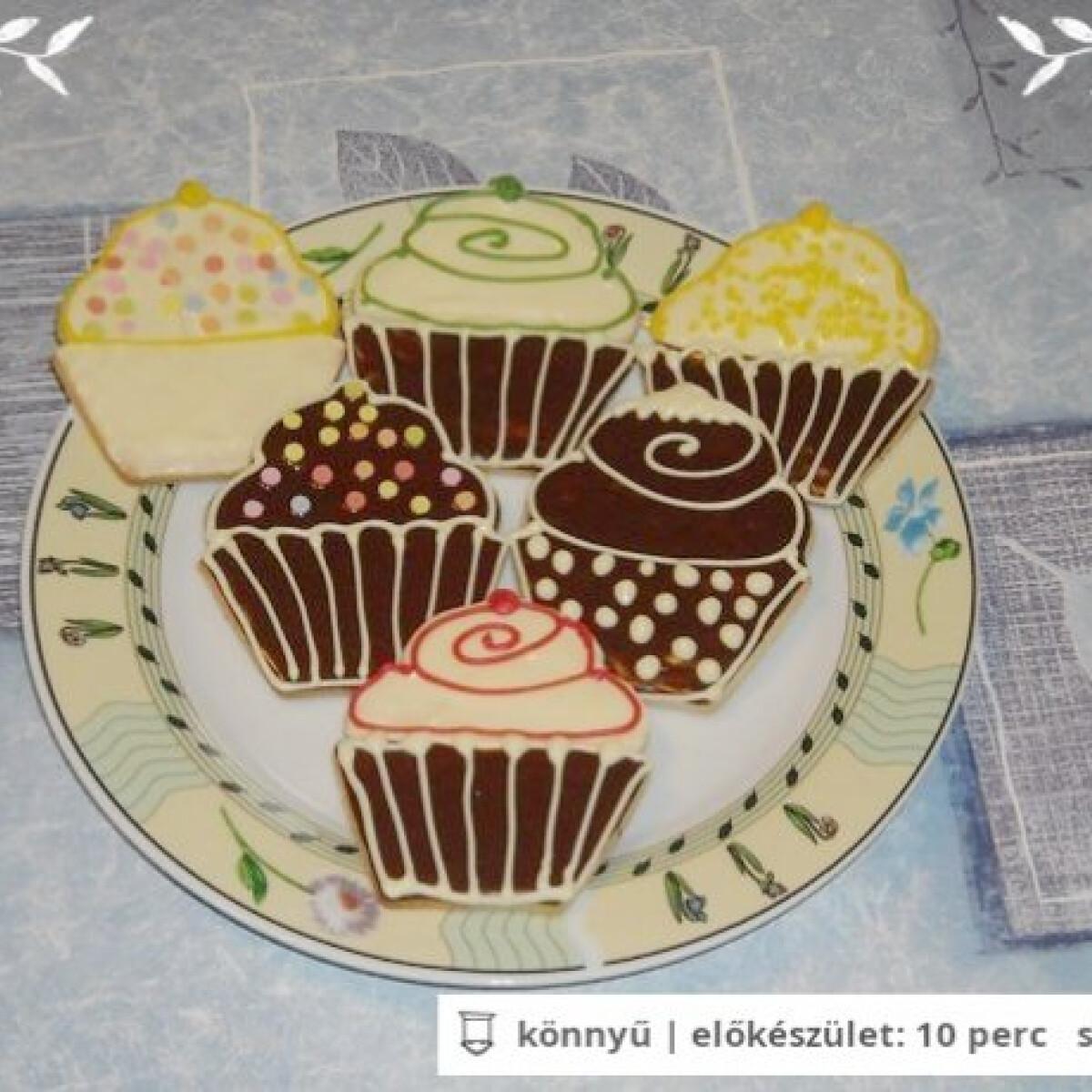 Ezen a képen: Linzer muffin