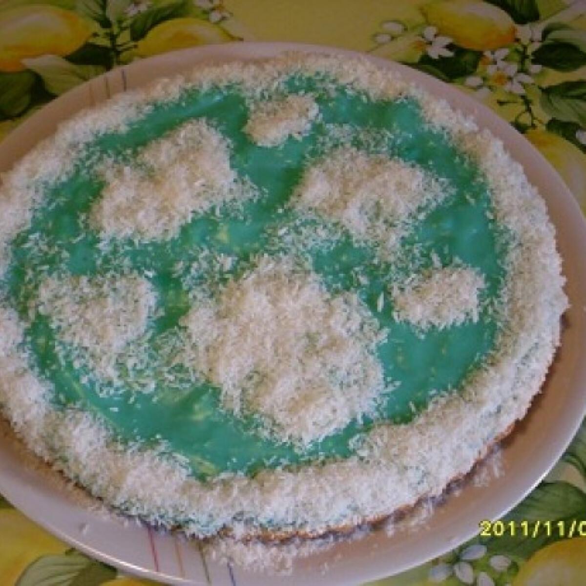 Ezen a képen: Blue Curaqao süti