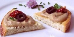 Padlizsánkrém - aszalt paradicsomos