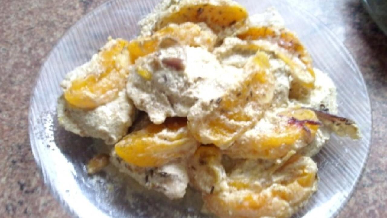 Mézes-mustáros csirkemell naranccsal
