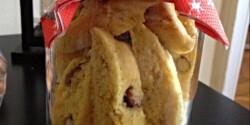 Svéd karácsonyi sáfrányos keksz