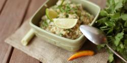Lime-os barna rizs