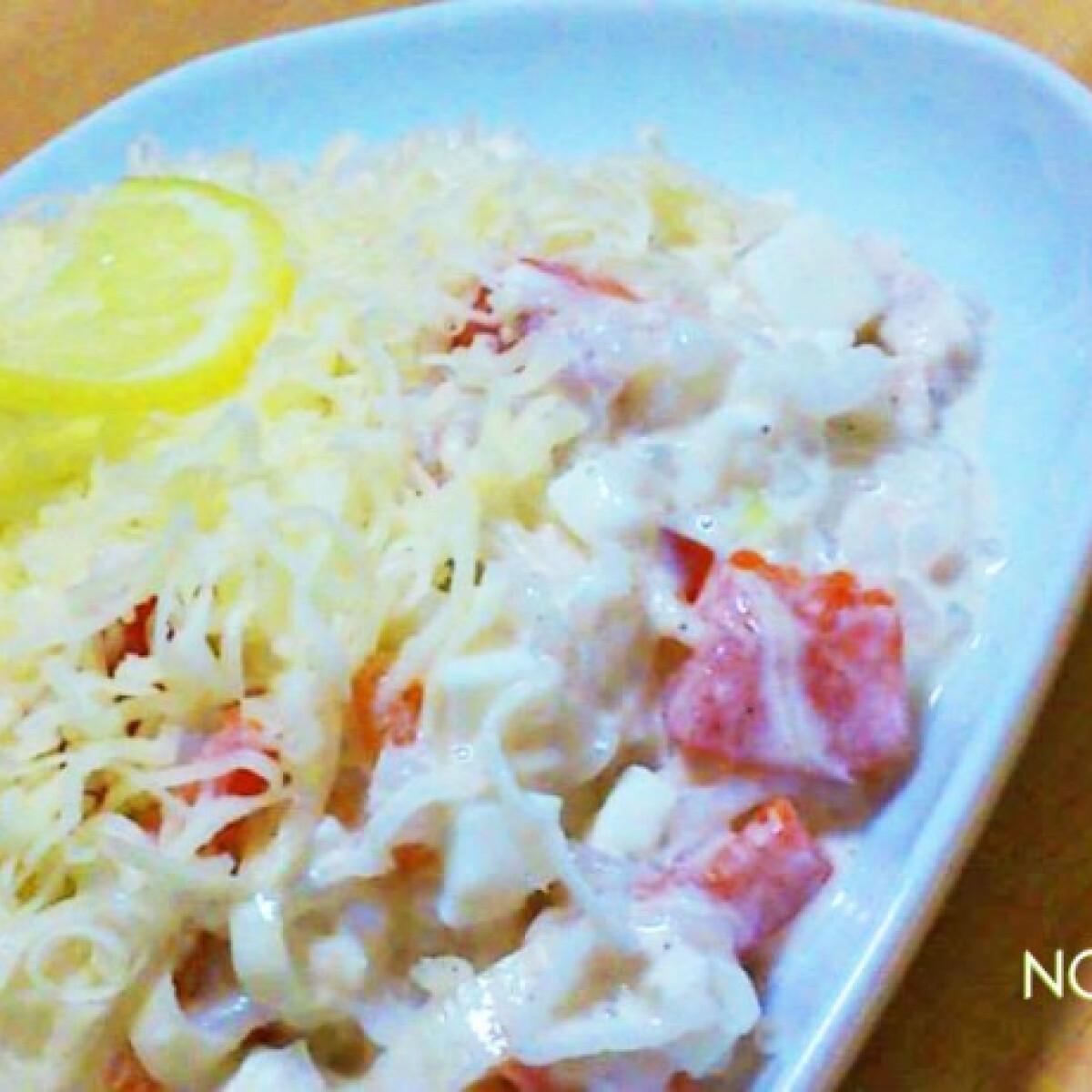 """Ezen a képen: Pikáns """"rizstészta"""" saláta"""