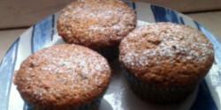 Mákos muffin almával