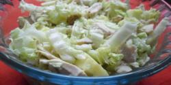 Kínai kelsaláta dióval és csirkemellel
