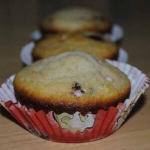Meggyes-csokis muffin 4. - tojás nélkül
