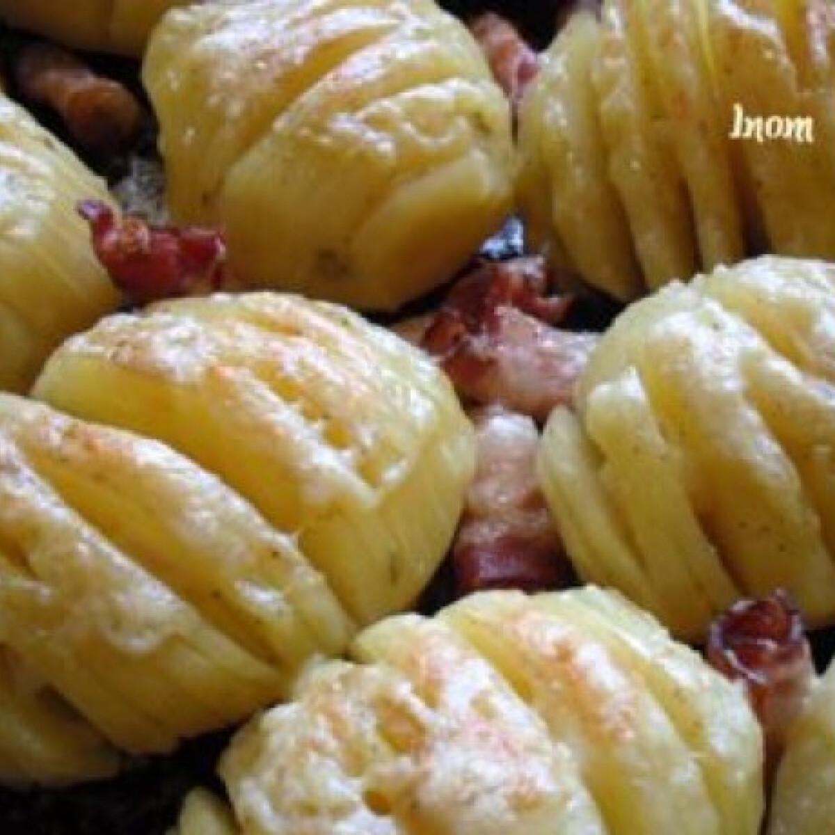 Ezen a képen: Sajtos recés krumpli