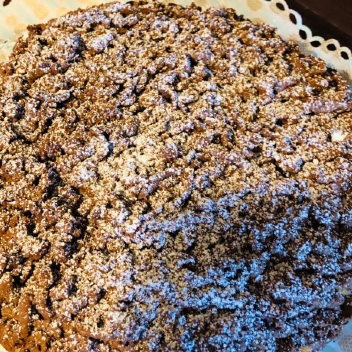 Ezen a képen: Egyszerű reszelt túrós süti