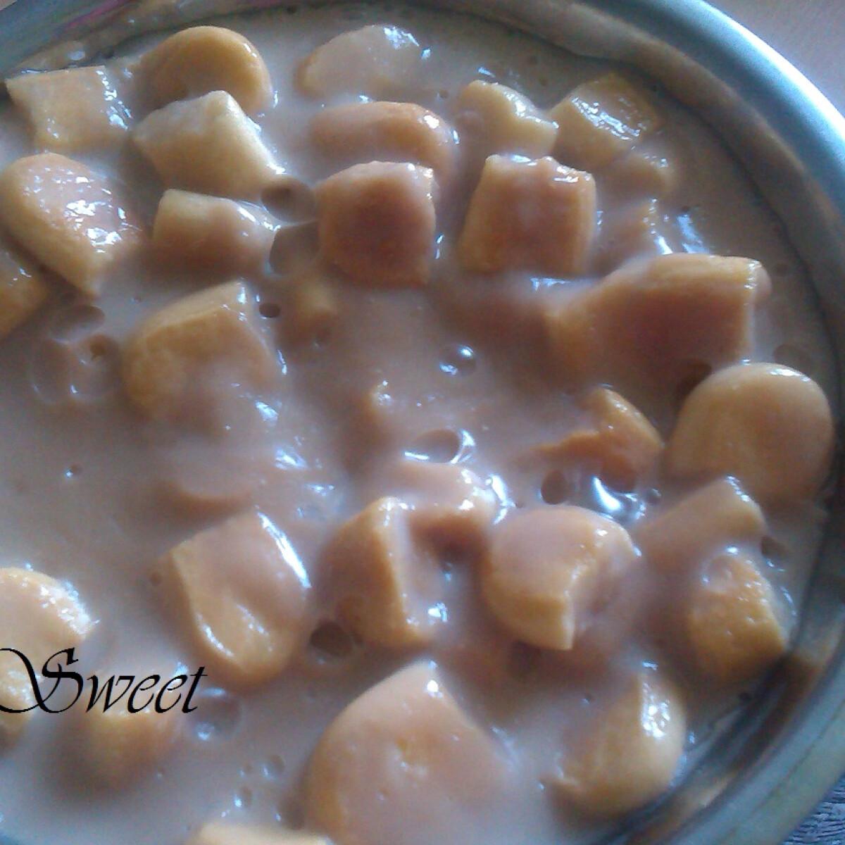 Ezen a képen: Tiramisu ízű édesség babapiskótával Nikitől