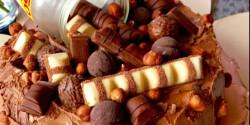 NuTeLlamour Torta