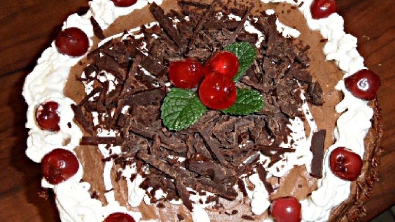 Feketeerdő torta Sandrine-től