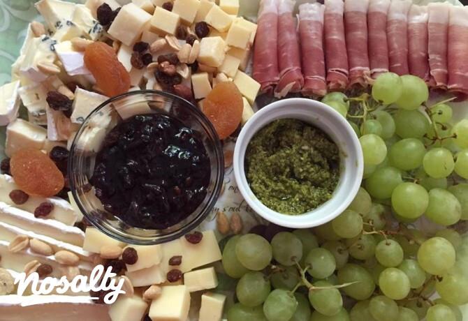 Vendégváró sajttál - Nosalty
