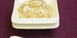 Joghurtos padlizsánkrém (Padlizsánkrém 3.)