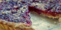 Omlós szőlős pite