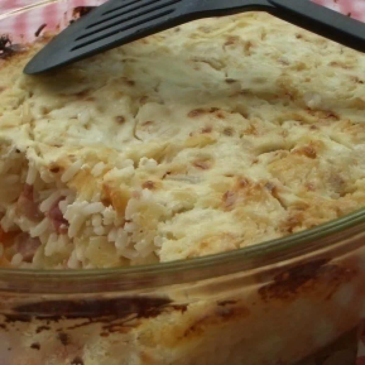 Ezen a képen: Mexikói rakott rizs