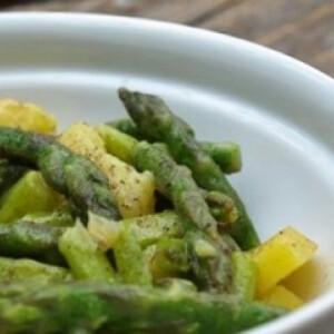 Citromos spárga saláta