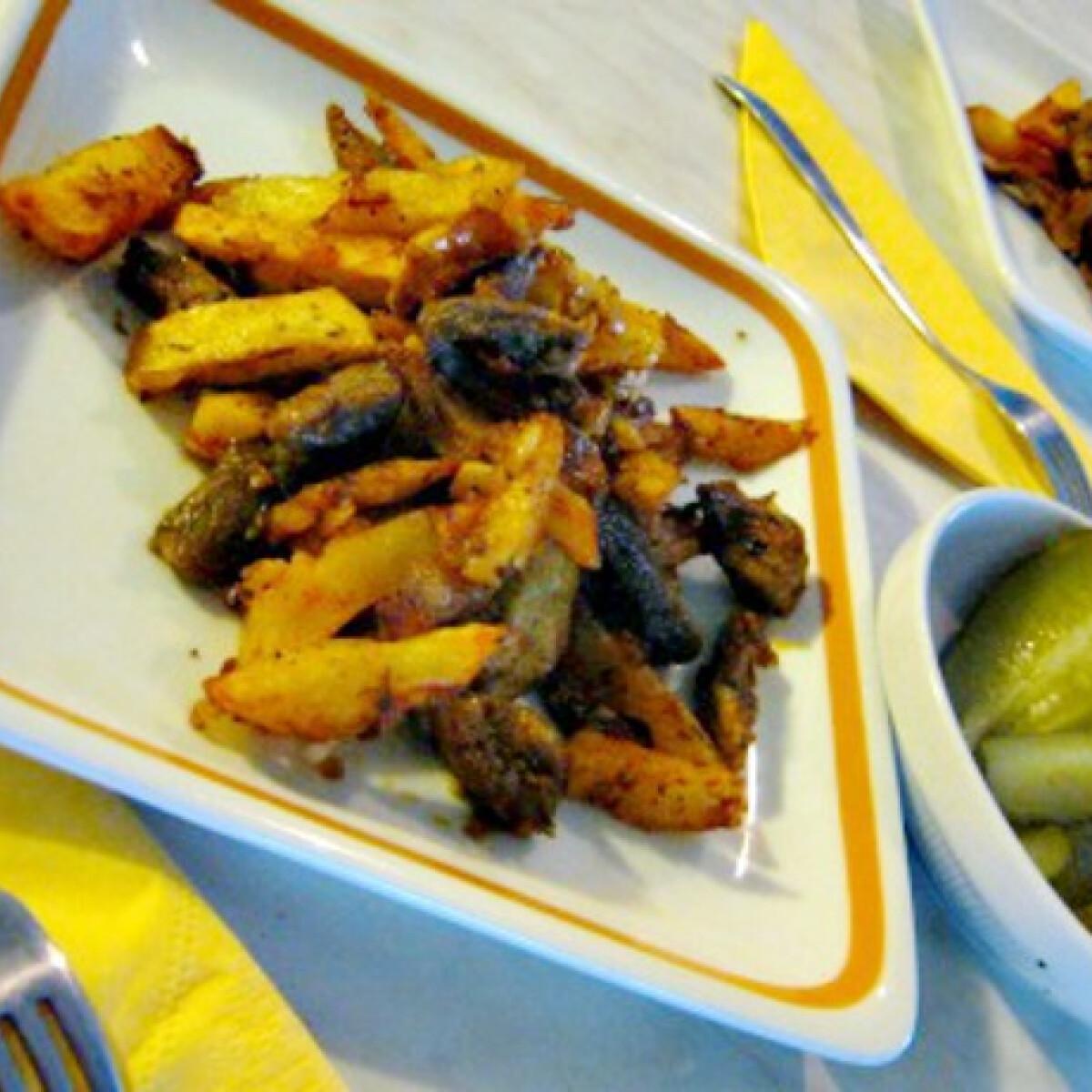 Ezen a képen: Brassói aprópecsenye Iluska konyhájából