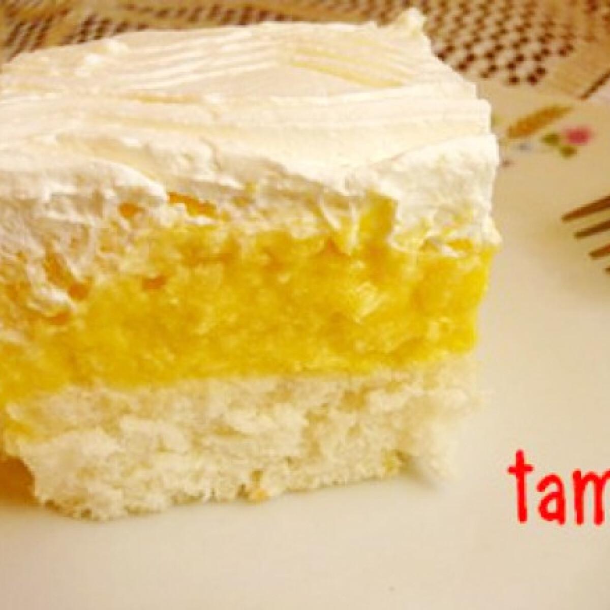 Ezen a képen: Madártej szelet tami konyhájából