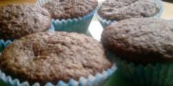 Banános muffin dupla csokival