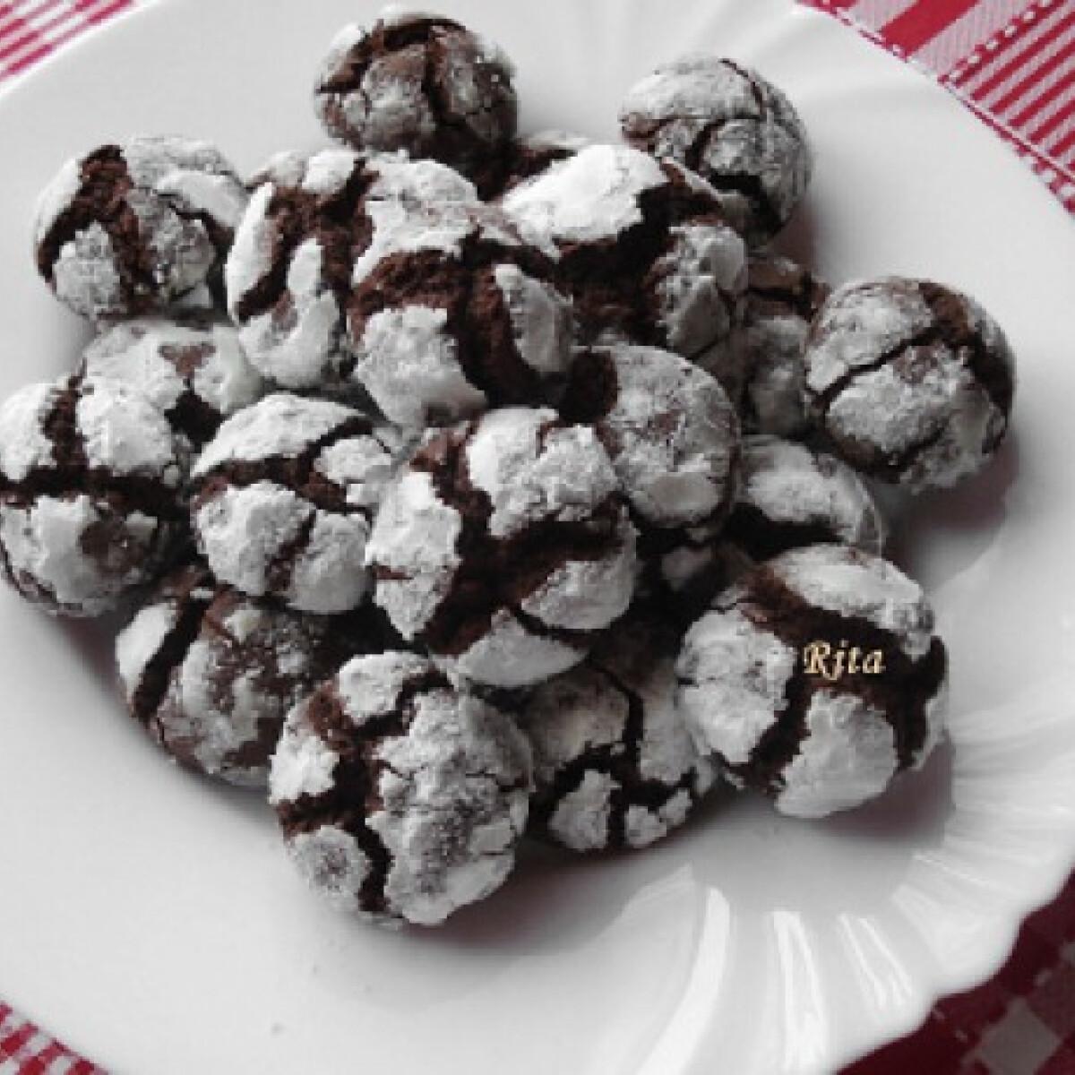 Ezen a képen: Csokis keksz TraRita konyhájából