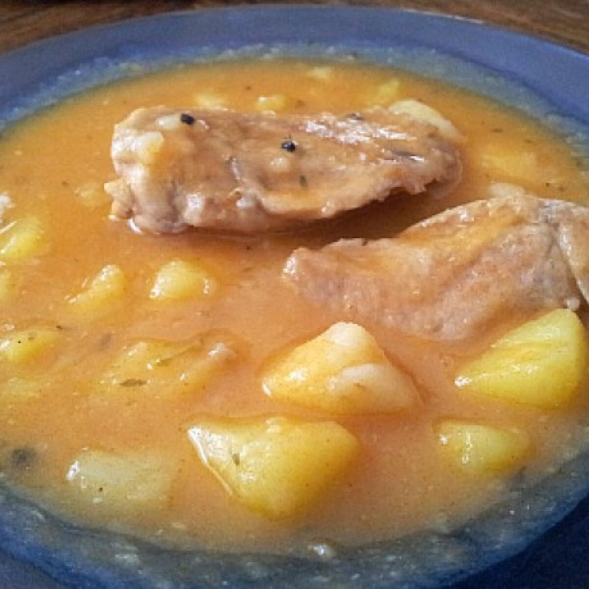 Ezen a képen: Krumplifőzelék DrPepe konyhájából