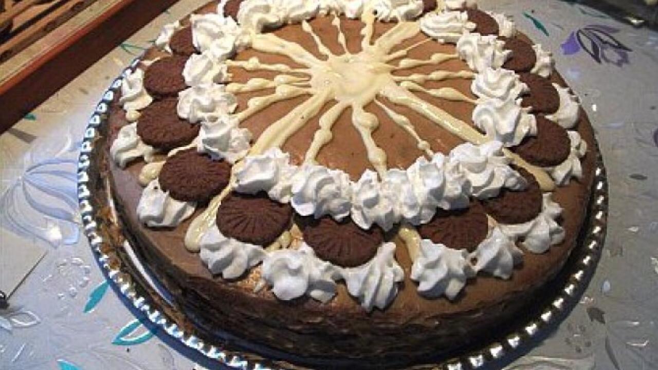 Cappuccino torta Habcsók Mézitől