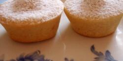 Kókuszos-fehér csokis muffin
