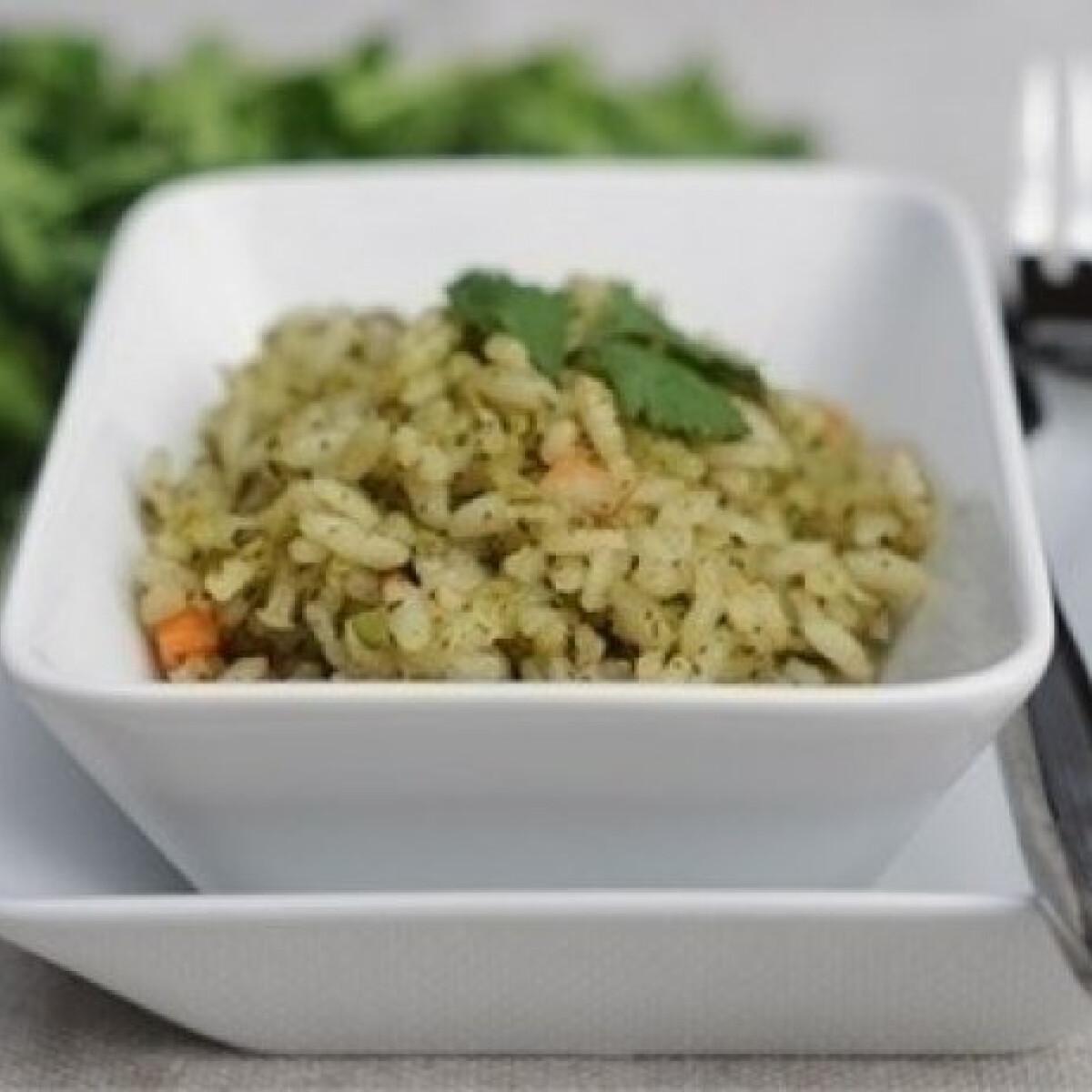 Ezen a képen: Zöld rizs