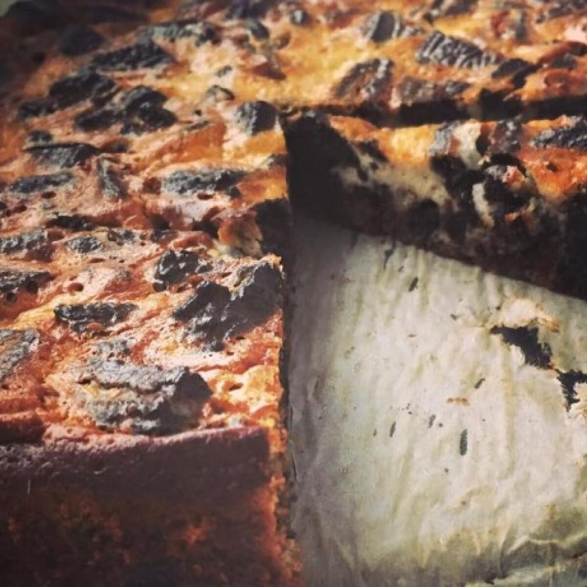 Ezen a képen: Oreo-s sajttorta Timejja9 konyhájából