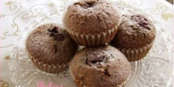Gyors meggyes-mákos muffin 2.
