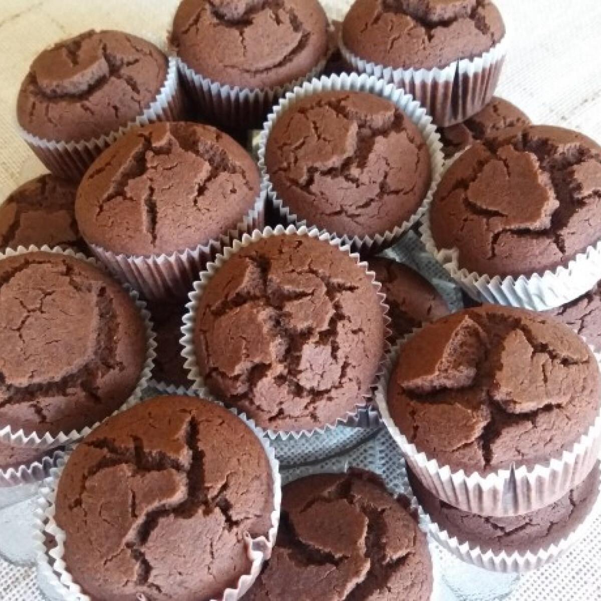 Tej- és gluténmentes kakaós-mákos muffin