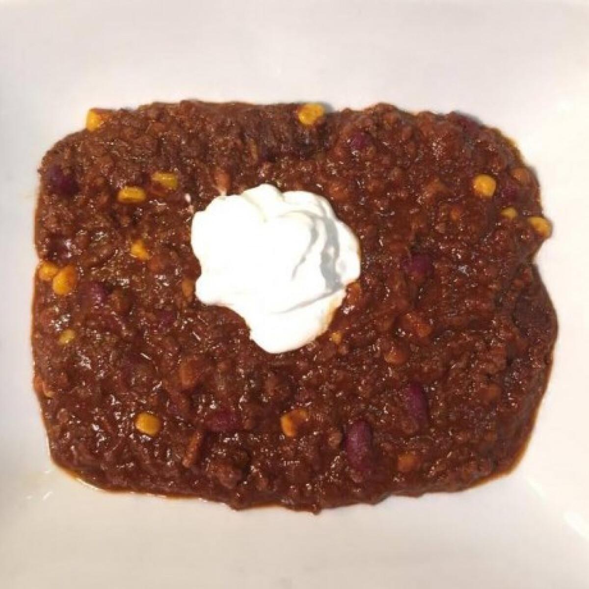 Ezen a képen: Chili con carne O'Brien konyhájából