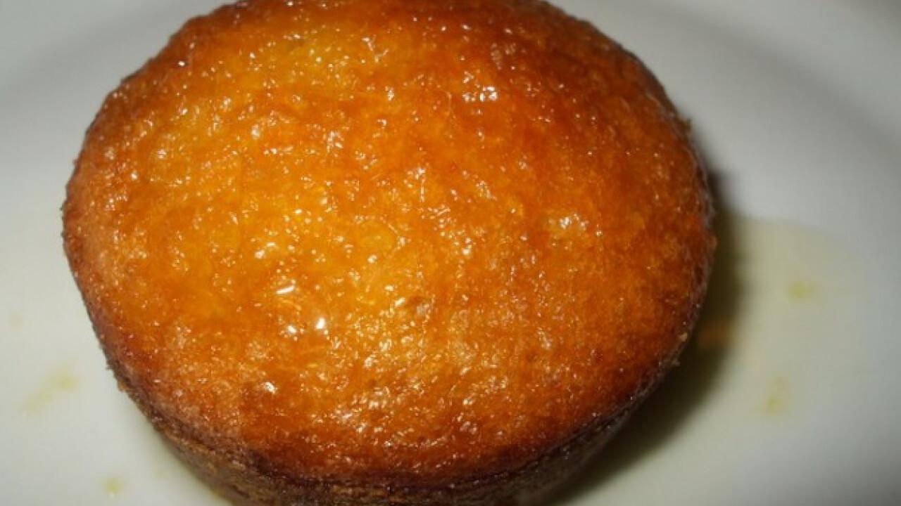 Narancslekvárral töltött muffinok