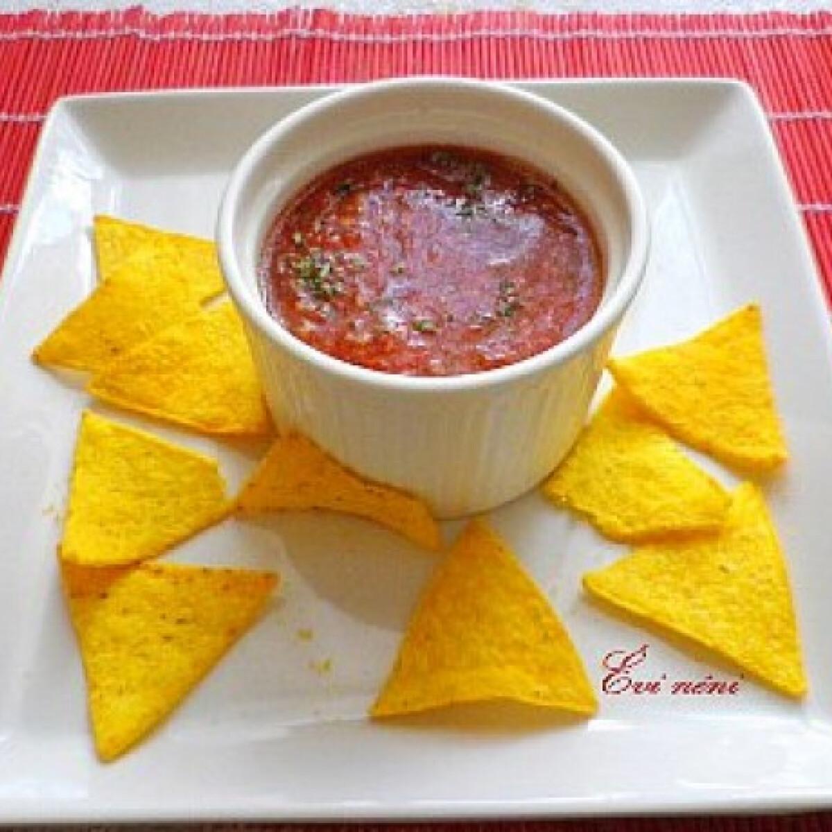 Ezen a képen: Chilis salsa