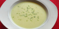 Fenyérfű leves