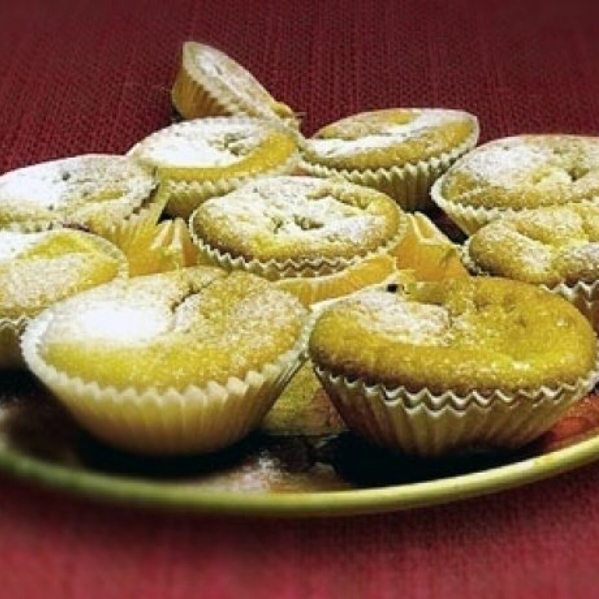Ezen a képen: Mascarponés muffin mandarinnal