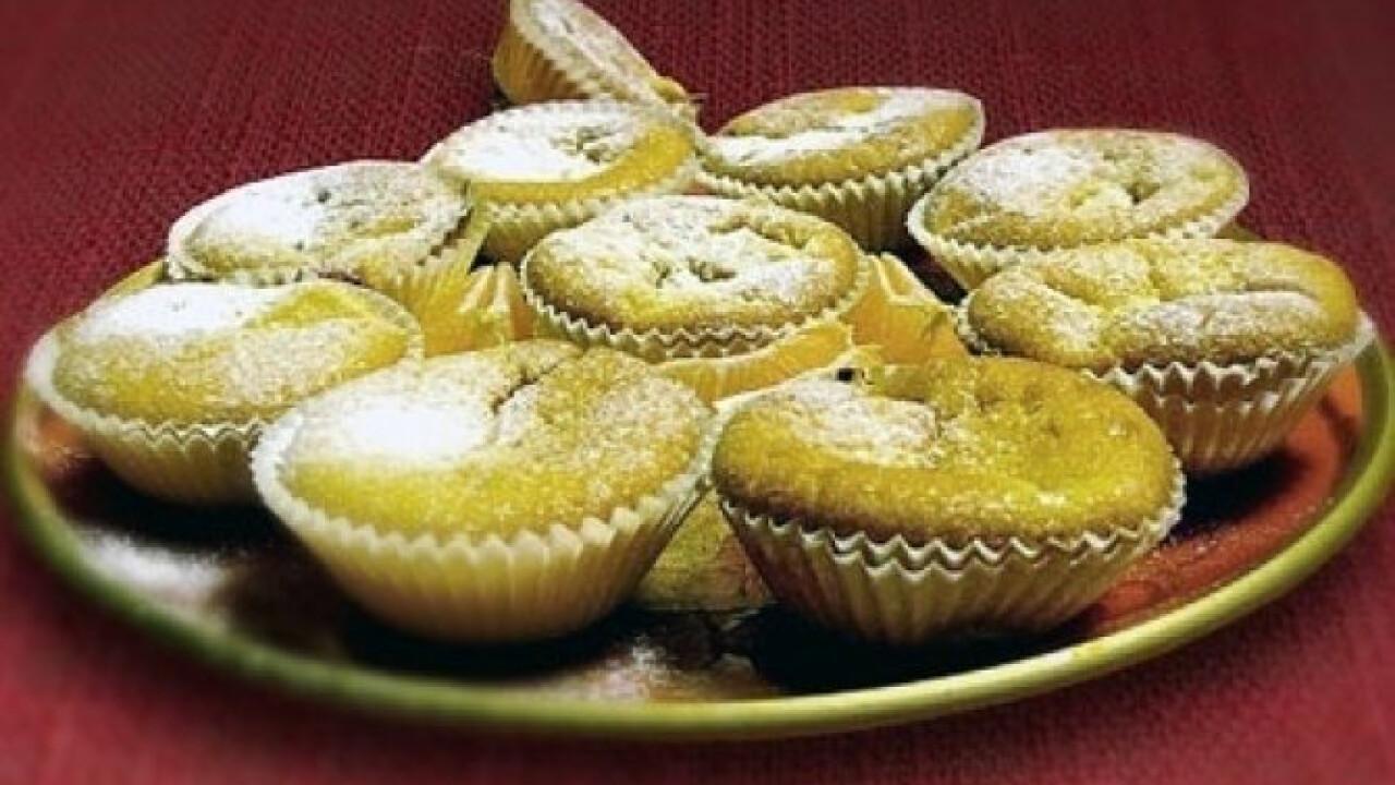 Mascarponés muffin mandarinnal