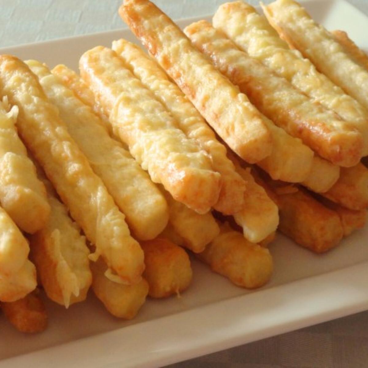 Egyszerű sajtos rudak