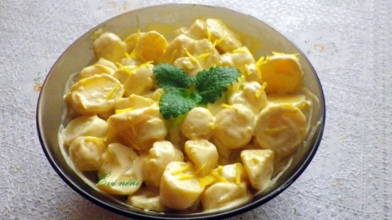 Tejszínes-majonézes krumpli