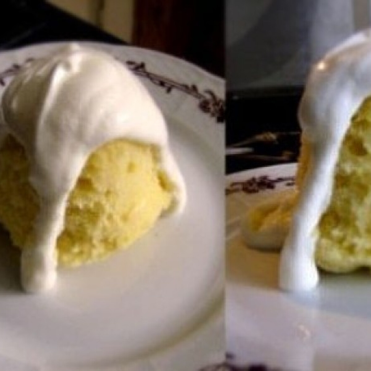 Mini citromos-túrós szivacspuding