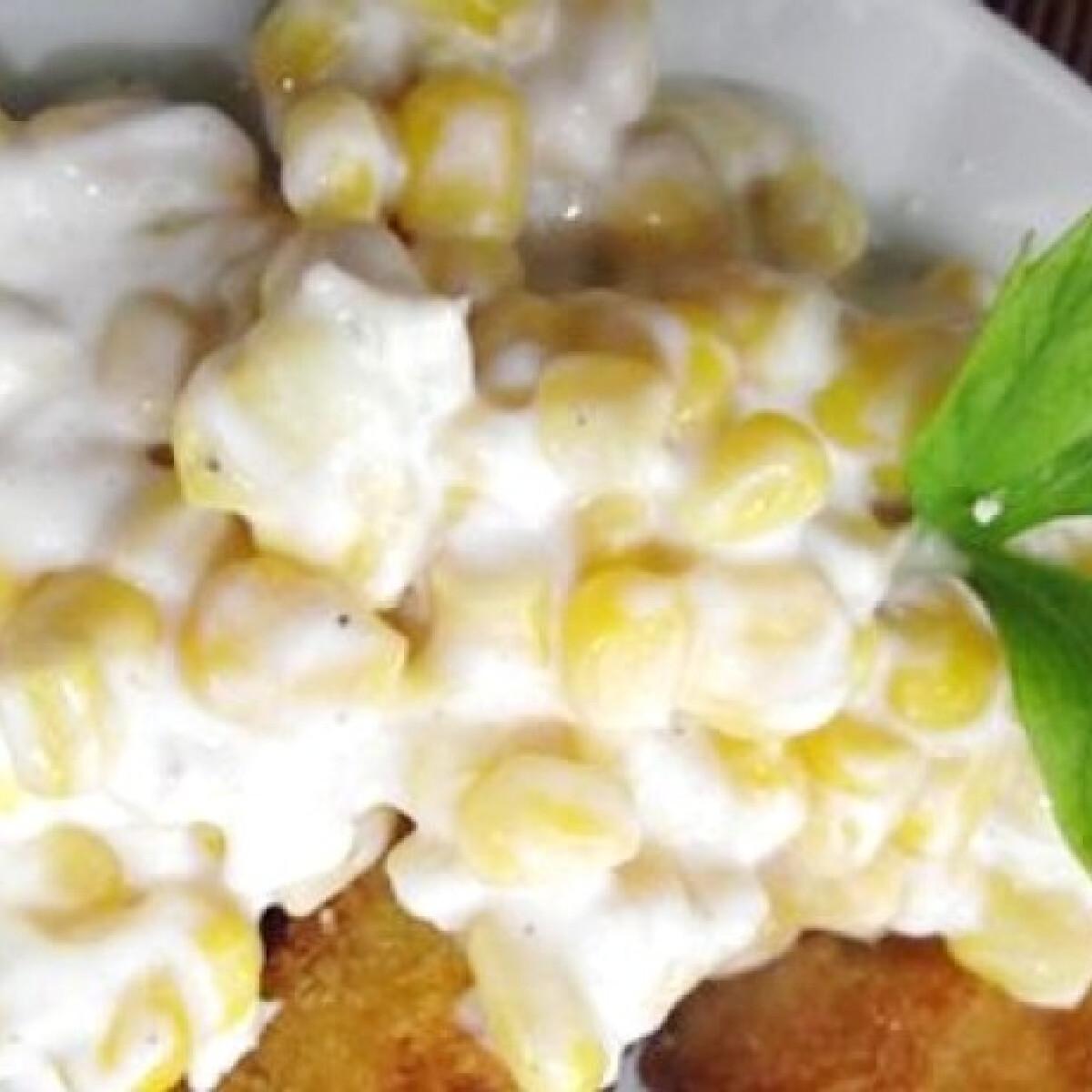 Ezen a képen: Citromos kukoricasaláta