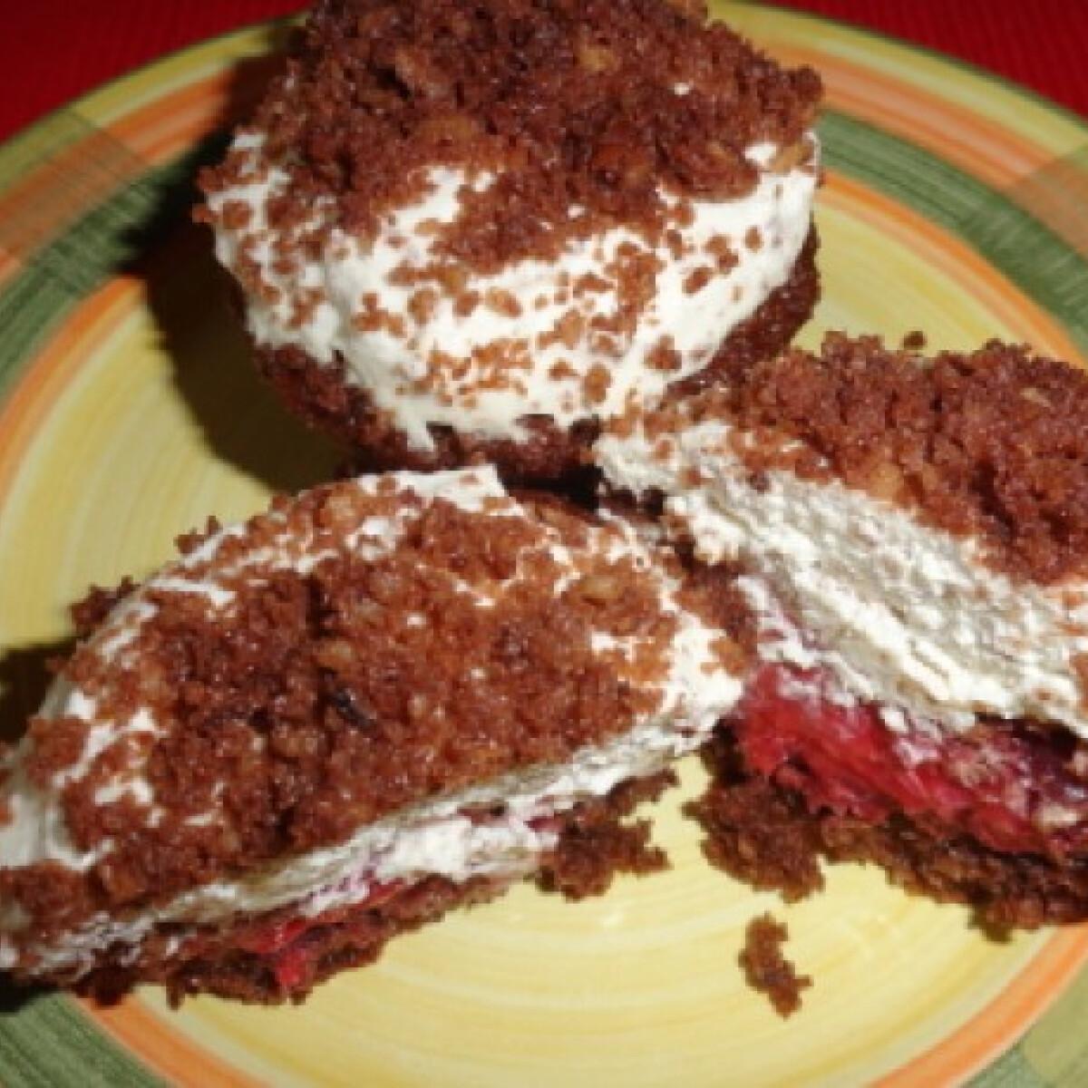 Ezen a képen: Vakondtúrás muffin
