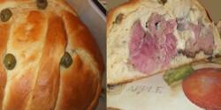 Cipóban sült húsvéti csülök