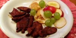 Csipkés-chilis csirkemell-csíkok