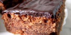 Csokimázas csokis süti