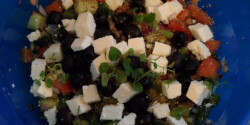 Görög saláta Sandrine konyhájából