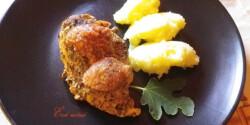 Sült csirkemell fügemustárral