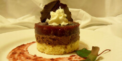 Tonkababos csokis szigetecskék